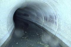 curved sewer